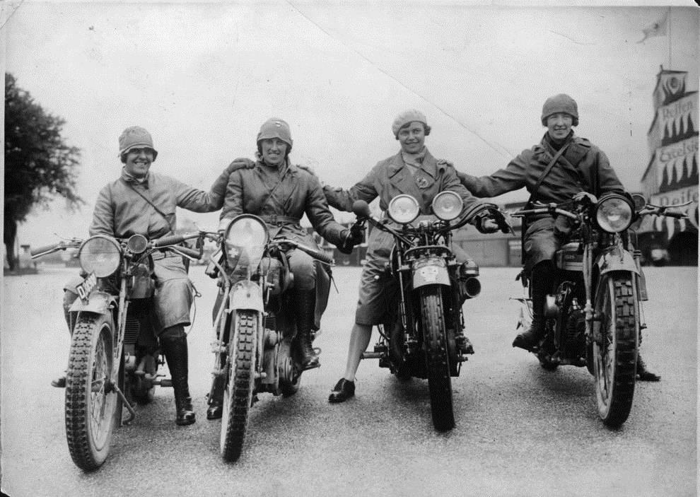 motorcycle history. Marjorie Cottle Motorcycle History