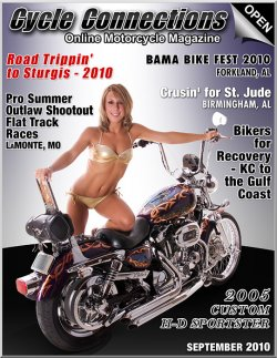 2005 Custom Harley-Davidson Sportster and Cover Model Ami