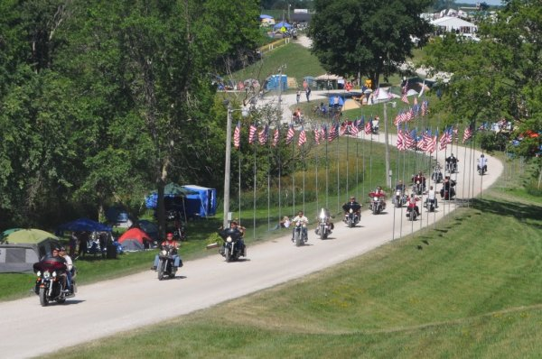 33rd Annual A.B.A.T.E. of Iowa Freedom Rally - Algona, Iowa