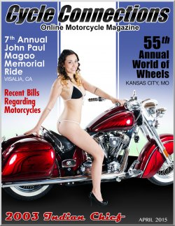 2015 Indian Chief & Cover Model Stevi