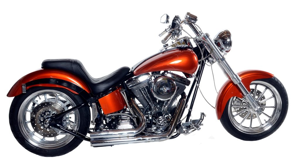 "1996 Harley-Davidson Softail ""Orange Peeler"""