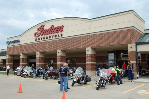 Indian Motorcycle Kansas City Grand Opening - Olathe, Kansas