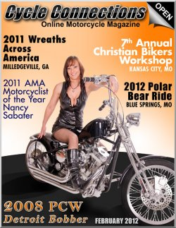 2008 Precision Cycle Works Detroit Bobber & Cover Model Jennifer