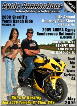 Bill D & Destiny with Their 2009 Yamaha YZF-R1 Stunt Bike