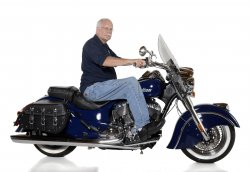 Dick Carlson & His 2014 Indian Chief Classic