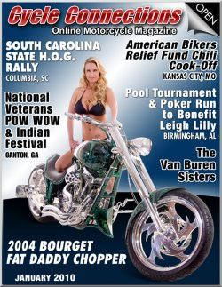2004 Bourget Fat Daddy Chopper & Cover Model Kendall