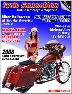 2008 Harley-Davidson Ultra Classic & Cover Model Meghan