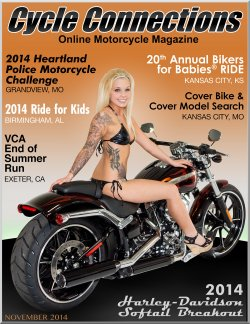2014 Harley-Davidson Softail Breakout and Cover Model Samantha