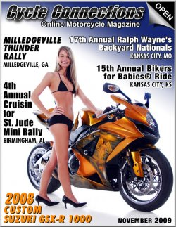 2008 Custom Suzuki GSX-R 1000 & Cover Model Alysha