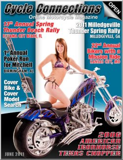 2006 American Ironhorse Texas Chopper & Cover Model Lauren