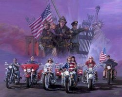 American Legion Riders Host 911 Ride