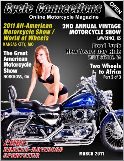2001 Harley Davidson Sportster & Cover Model Jennifer