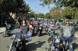 Lost Girls MC 10TH Annual Breast Cancer Ride – Visalia, California