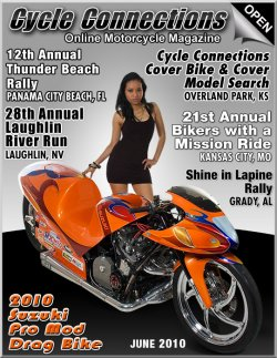 2010 Suzuki Pro Mod Drag Bike and Cover Model Arrica