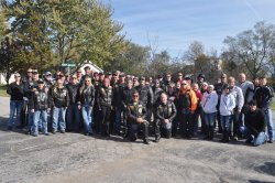 5th Annual Toys for Tots Ride - American Legion Riders - LeRoy Hill Chapter #19 - Gardner, Kansas