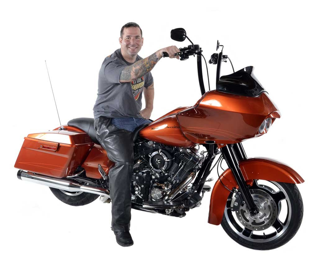 Ray Petrik & His 2011 Harley-Davidson Road Glide Custom