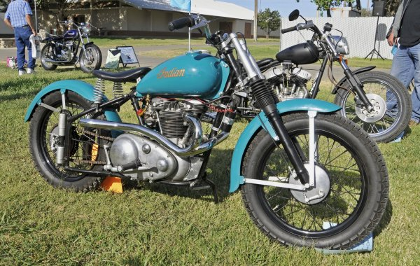 46th Annual Hanford Vintage Motorcycle Show and Swap Meet - Hanford California