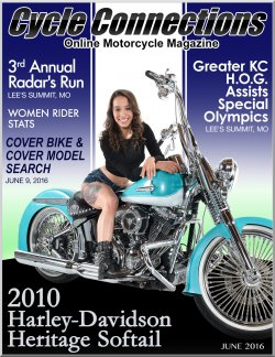 2010 Harley-Davidson Heritage Softail and Cover Model Patience