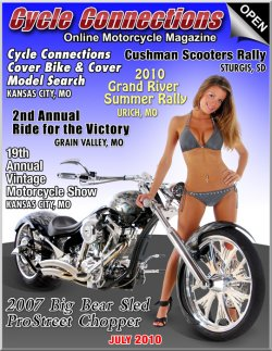 2007 Big Bear Sled ProStreet Chopper and Cover Model Ashley