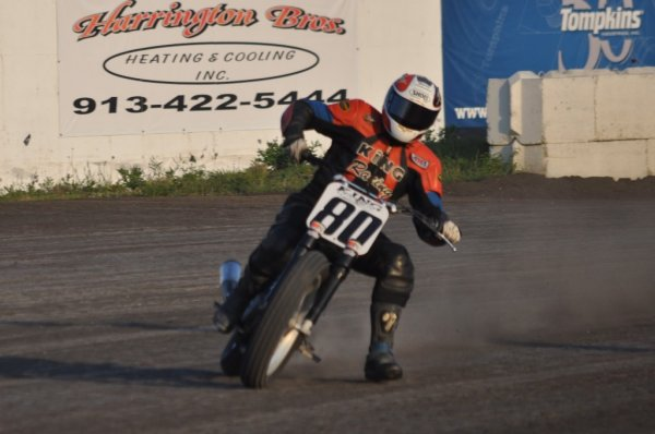 Flat Track Motorcycle Racing at LakeSide Speedway – Kansas City, Kansas