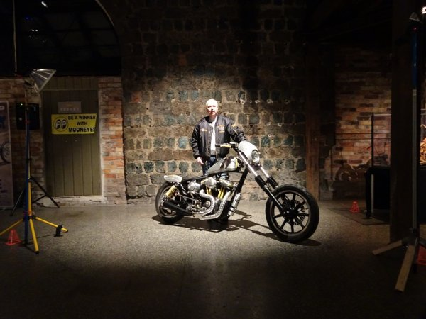 "Peter Ström & His ""MOONSTER"" Sportster"