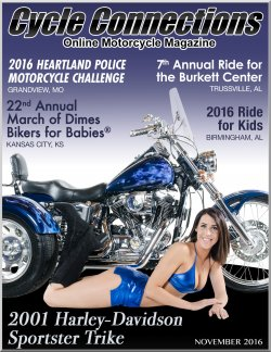 2001 Harley-Davidson Sportster Trike and Cover Model Hollie