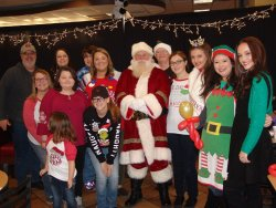 "Breakfast With Santa and the Zoo Run for Children's ""Stars"" at Chic-Fil-A in Leeds, Alabama"