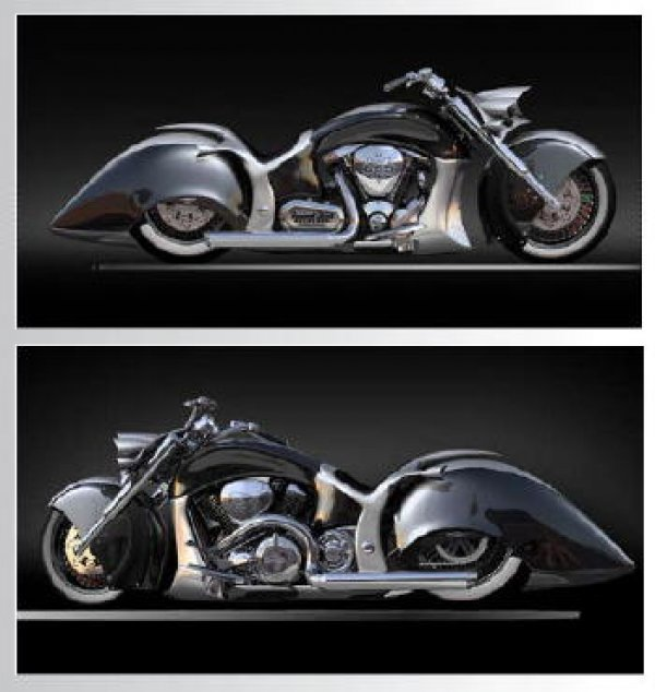 Callahan Custom Cycles, Custom Eyes Concepts and Fremont Street Experience Team Up for 'Pit Boss'
