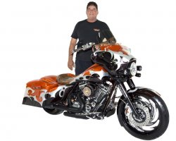 Mark Kozack & His 2009 Harley-Davidson Road King