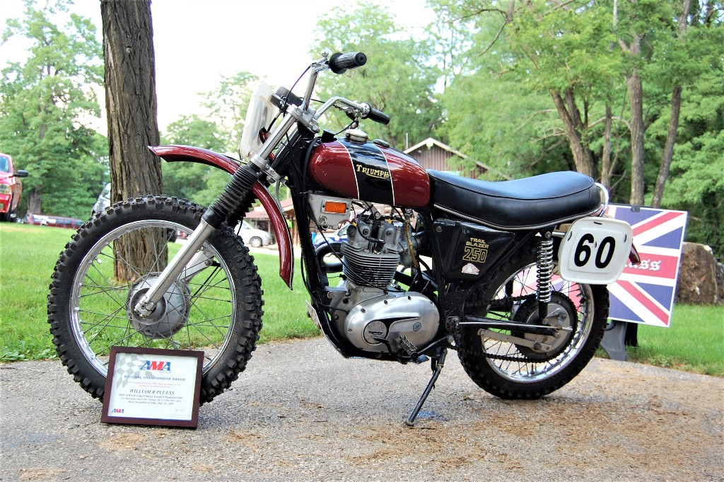 BBC 2018 Bill Pluess BSA Trail Blazer 250