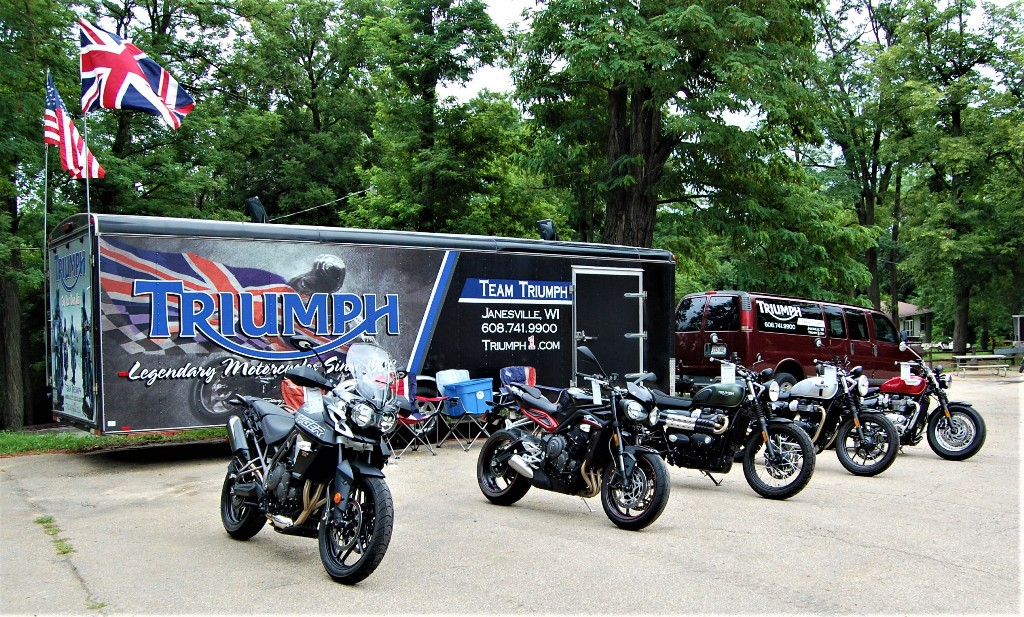 Team Triumph at BBC Rally