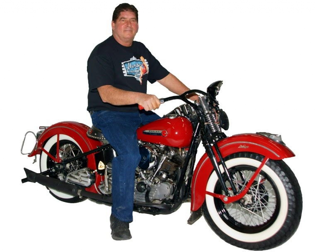 Mark Kozak & His 1947 Harley-Davidson EL