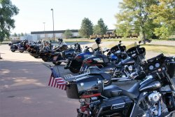 14th Annual Kevin Unruh Memorial Poker Run                Photos & Article By: Andrea Sallee Lehm & Laurie Lea Durham