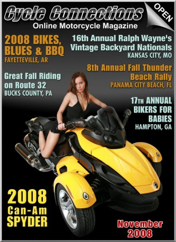 2008 Can-Am Spyder & Cover Model, Desire'