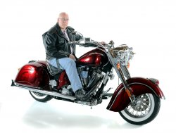 Andrew Stonestreet & His 2003 Indian Chief