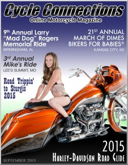 2015 Harley-Davidson Road Glide & Cover Model Sabrina