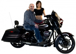 Rick Worth & His 2014 Harley-Davidson Street Glide Special