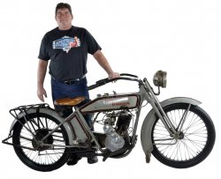 Mark Kozak & His 1917 Harley-Davidson Model B