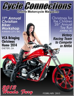 2013 Honda Fury & Cover Model Summer May