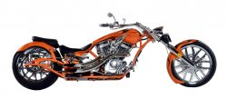 2008 Big Bear Chopper Sled Pro-Street