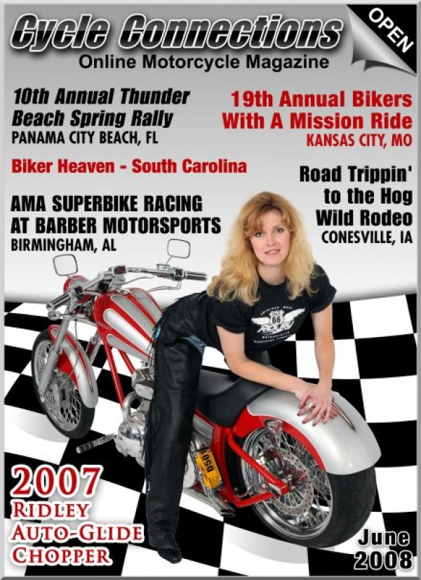 2007 Ridley Auto-Glide Chopper & Cover Model Nichole