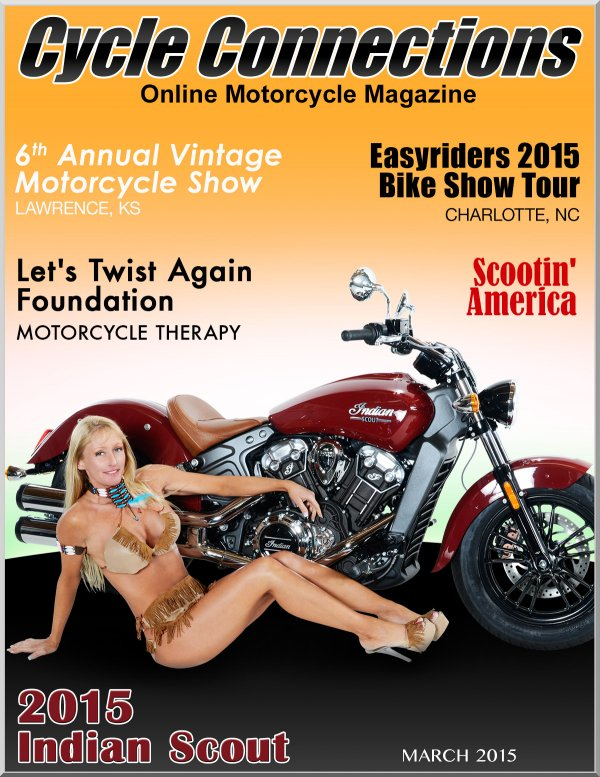 2015 Indian Scout & Cover Model Jane