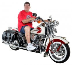 Mark Kozak & His 2001 Harley-Davidson Heritage Springer