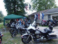 Chow Call at the Veteran's Brotherhood – Birmingham, Alabama