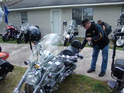 "Blessing of the Bikes-Veterans Brotherhood with the ""Bond Slaves"""