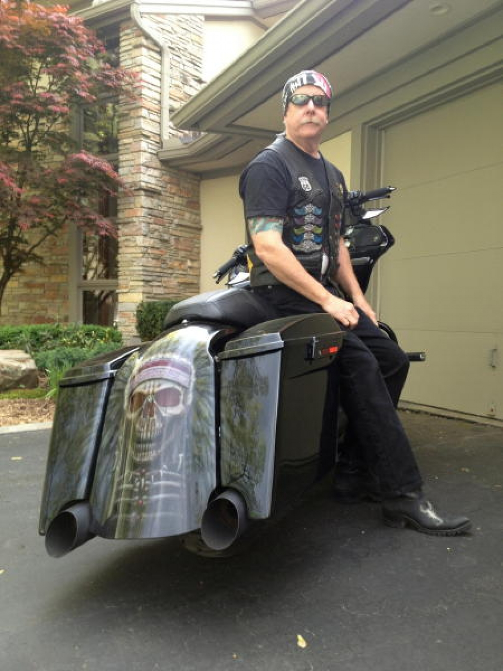 John Moffitt & His 2013 Harley-Davidson Road Glide