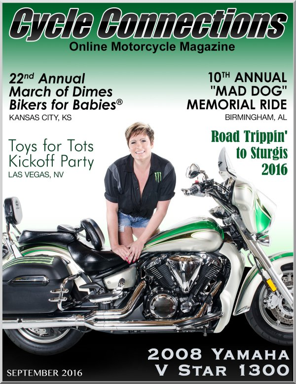 2008 Yamaha V Star 1300 and Cover Model Michelle