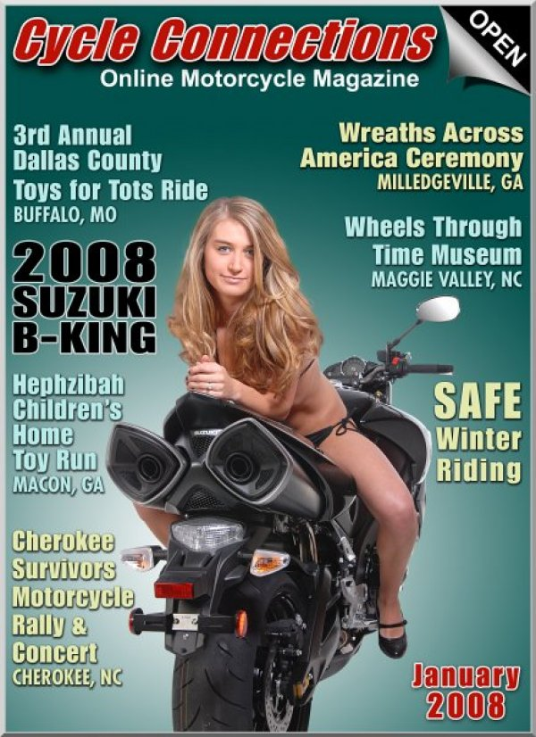 2008 Suzuki B-King GSX1300BK & Cover Model Aly