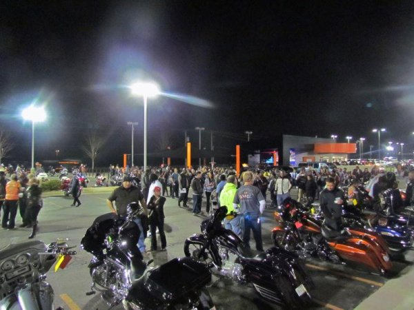 Zac Riders M/C 2013 Breakout Rally at Worth Harley-Davidson – Kansas City, Missouri