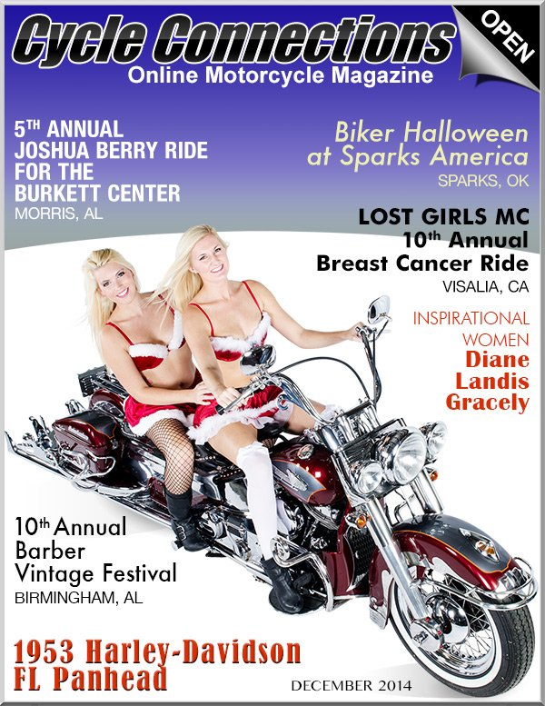 1953 Harley-Davidson FL Panhead & Cover Models Jaycee and Margaret